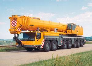 фото: тяжелый авто кран Либхерр, Liebherr